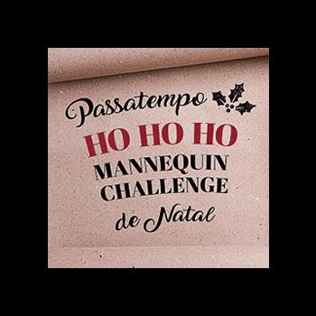 Mannequin challenge de Natal!
