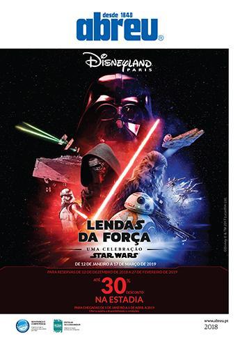 Disney - Lendas da Força 2019