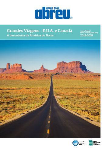 Grandes Viagens - EUA e Canadá 2018/2019
