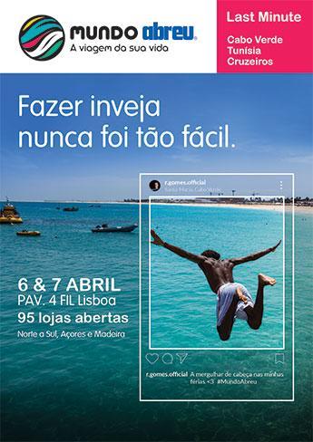 Mundo Abreu 2019 - Last Minute Cabo Verde, Tunísia, Cruzeiros