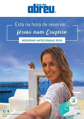 Reservas Antecipadas - Cruzeiros 2019