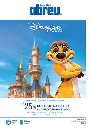 Disneyland Paris - Oferta de Verão 2019