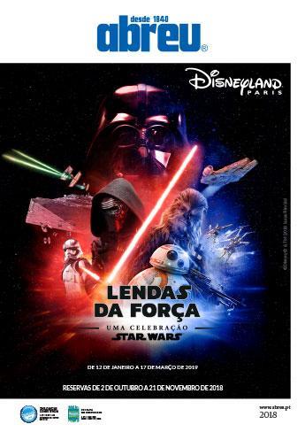Disney - Lendas da Força 2018