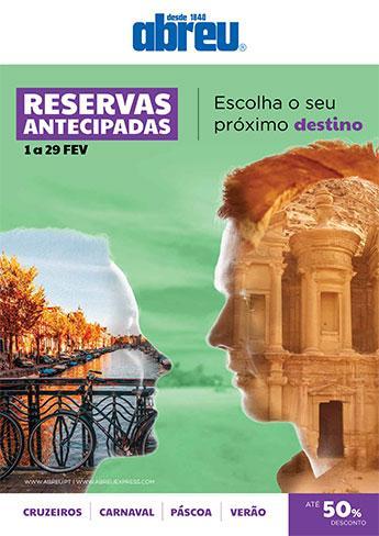 Reservas Antecipadas - Fev2020