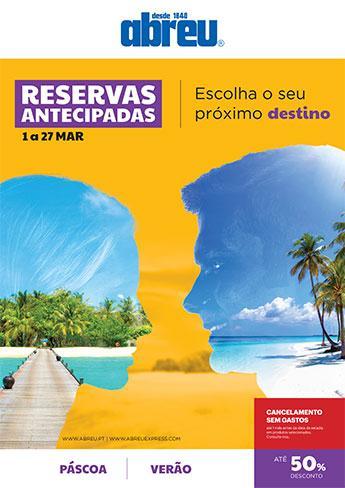 Reservas Antecipadas - Mar2020