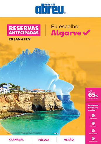 Reservas Antecipadas - Algarve