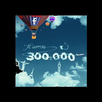 Passatempo Já somos 300 mil fãs!