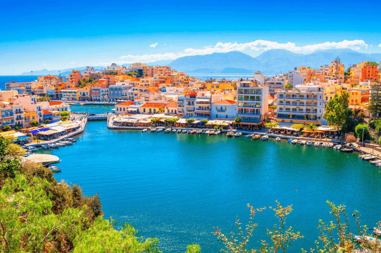 Heraklion, Agios Nikolaos e Rethymno