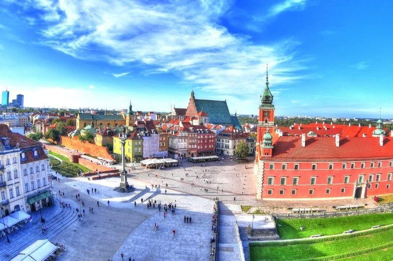 Polónia e Alemanha<br>Varsóvia a Berlim