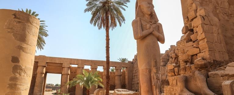 Egito<br>No tempo dos Faraós