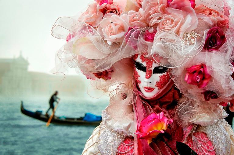 Carnaval <br> Veneza, Itália