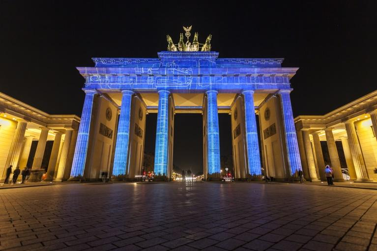 Festival das Luzes <br> Berlim, Alemanha