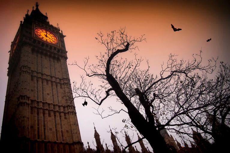 Halloween <br> Londres, Reino Unido