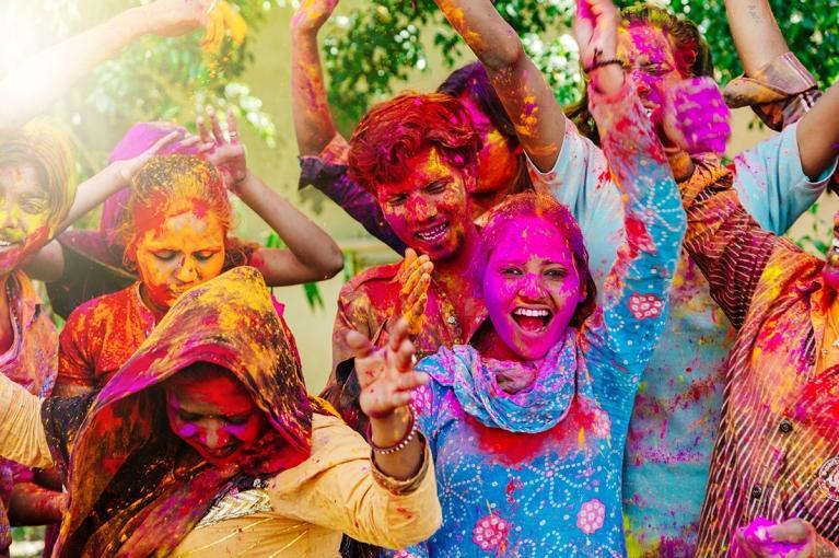 Holi Fest <br> Jaipur, Índia