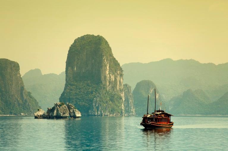 À Descoberta<br>do Vietname